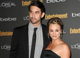Kaley Cuoco admits her quickie engagement to Ryan Sweeting 'seems a little crazy.' Here, she attends the Entertainment Weekly pre-Emmy party on September 20 in West Hollywood. (Jason LaVeris/FilmMagic)