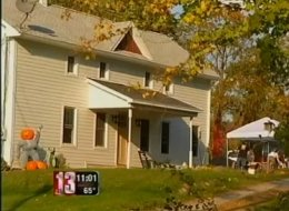 Human bones found in the crawl space of this house could help police solve a 75-year-old case.