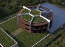 El arquitecto Luis de Garrido diseñó una lujosa casa en forma de balón a Lionel Messi