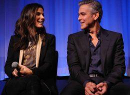 Sandra Bullock and George Clooney star in 'Gravity.'