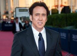 Nicolas Cage was honored at China's Huading Awards.