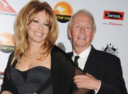 LOS ANGELES, CA - JANUARY 12: Linda Kozlowski and Paul Hogan attend the 2013 G'Day USA Black Tie Gala at JW Marriott Los Angeles at L.A. LIVE on January 12, 2013 in Los Angeles, California. (Photo by Jeffrey Mayer/WireImage)