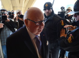 Mike Duffy faces a charge of bribery in connection to the infamous $90,000 cheque he received from Nigel Wright. (CP)