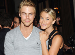 Derek Hough defended sister Julianne Hough in the post-blackface controversy. Here, they attend Cosmopolitan's Summer Bash on August 10 in West Hollywood. (Stefanie Keenan/WireImage)