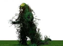 Chris Lindland wants to raise $50,000 so he can build a 40-foot Godzilla sculpture out of kudzu.