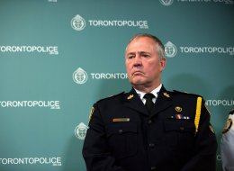 Toronto Police Chief Bill Blair. (CP)