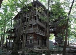 La pi grande casa sull 39 albero del mondo in tennessee for Piani di casa del vecchio mondo