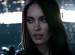 Megan Fox appears in the new 'Call of Duty: Ghosts' trailer.