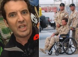 Rick Mercer believes Canada's last three defence ministers should take off their poppies — and stab themselves in the head with them — over the way injured veterans are being treated these days. (CP)