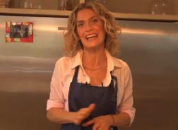 Maru Botana, cocinera argentina, prepara tortillas y causa polémica con su método.