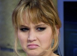 MADRID, SPAIN - APRIL 19:  Actress Jennifer Lawrence attends 'El Hormiguero' TV show at Vertice 360 Studio on April 19, 2012 in Madrid, Spain.  (Photo by Juan Naharro Gimenez/WireImage)