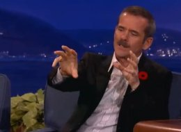 Retired Canadian astronaut Chris Hadfield explained to Conan O'Brien what happens to dirty laundry aboard the ISS. (YouTube)