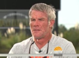 Brett Favre admits he would be 'leery' of a son playing football.