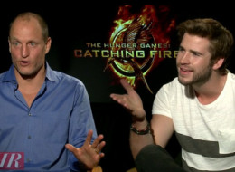 Liam Hemsworth and Woody Harrelson poke fun at Jennifer Lawrence's ego.
