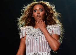 Beyonce was reportedly once banned from the pyramids in Egypt. Here, she performs on stage during 'The Mrs. Carter Show World Tour' at the Toyota Center on July 15, 2013 in Houston, Texas. Beyonce wears a custom, hand-beaded, white peplum one-piece by Ralph & Russo, Stuart Weitzman shoes and hosiery by Capezio.