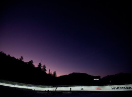 A child was injured in a luge accident at the Whistler Sliding Centre on Wednesday, but is recovering in hospital.