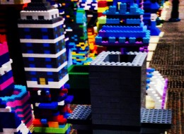 Douglas Coupland's Lego art project is the best.