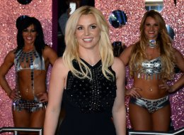 LAS VEGAS, NV - DECEMBER 03:  Singer Britney Spears arrives at a welcome ceremony as she celebrates the release of her new album 'Britney Jean' and prepares for her two-year residency at Planet Hollywood Resort & Casino on December 3, 2013 in Las Vegas, Nevada. Spears' show 'Britney: Piece of Me' will debut at the resort on December 27, 2013.  (Photo by Ethan Miller/Getty Images)