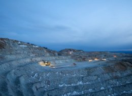 First Nations opposed to Taseko's New Prosperity Mine have threatened a lawsuit if the federal government approves it. This picture shows Taseko's Gibraltar mine in the Cariboo region.