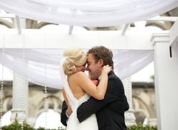 Guess model Ashley Diana Morris tied the knot with West Vancouver's Geoffrey Gillespie in the Bahamas on Nov. 9.