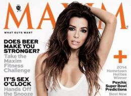 Eva Longoria is Maxim's woman of the year.
