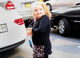 Honey Boo Boo's family in car accident. NEW YORK, NY - APRIL 04:  Honey Boo Boo as seen on April 4, 2013 in New York City.  (Photo by Jackson Lee/Star Max/FilmMagic)