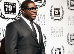 Steve McQueen was heckled at the NYFCC Awards on Monday night.