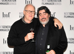 PARK CITY, UT - JANUARY 18:  Actors John Lithgow (L) and Alfred Molina attend the 'Love Is Strange' Premiere Party on January 18, 2014 in Park City, Utah.  (Photo by Colby D Crossland/Getty Images)