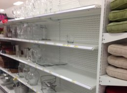 Target Canada's inventory problems and deep discounts suggest the retailer is at risk of