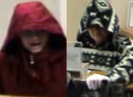 The FBI is looking for a female bank robber who robbed a Kingswood, Texas, bank twice in January.