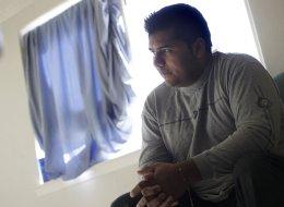 Erick Munoz, the husband of Marlise Machado Munoz, poses for a photo at his home on Jan. 3, 2014.