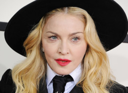 Singer Madonna attends the 56th GRAMMY Awards at Staples Center on January 26, 2014 in Los Angeles, California.  (Photo by Steve Granitz/WireImage)
