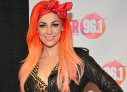 Bonnie McKee opened up about being bisexual. Here she is backstage at Power 96.1's Jingle Ball 2013 at Phillips Arena on Dec. 11, 2013, in Atlanta, Ga.