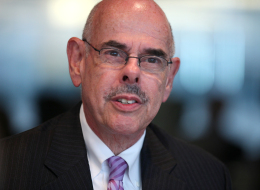 Representative Henry Waxman, a Democrat from California, speaks during an interview in Washington D.C., U.S. on Tuesday, July 9, 2013. The train explosion in Quebec could increase pressure to approve Keystone XL pipeline, though 'Im against it and Im hoping the president doesnt approve it,' Waxman said. Photographer: Julia Schmalz/Bloomberg via Getty Images