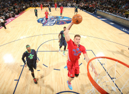 Blake Griffin of the Western Conference All-Stars dunks during the 2014 NBA All-Star Game as part of the 2014 All-Star Weekend at Smoothie King Center on February 15, 2014 in New Orleans, Louisiana. NOTE TO USER: User expressly acknowledges and agrees that, by downloading and/or using this photograph, user is consenting to the terms and conditions of the Getty Images License Agreement.  Mandatory Copyright Notice: Copyright 2014 NBAE (Photo by Nathaniel S. Butler/NBAE via Getty Images)