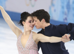 Canadians Tessa Virtue and Scott Moir perform. They ended up with a silver. At the Winter Olympics in Sochi, the Ice Dancing long program finals were held at the Ice Berg Arena, February 17, 2014. (Richard Lautens/Toronto Star via Getty Images)