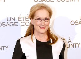 PARIS, FRANCE - FEBRUARY 13:  Actress Meryl Streep attends the 'August : Osage County' : Premiere at Cinema UGC Normandie on February 13, 2014 in Paris, France.  (Photo by Bertrand Rindoff Petroff/Getty Images)