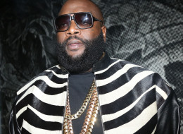 Rick Ross has offended many with lyrics referencing the Trayvon Martin shooting. Here, he attends the Rick Ross 'Mastermind' Listening Event on Feb. 11 in New York City.