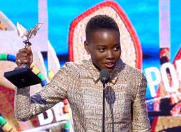 Lupita Nyong'o wins at the Spirit Awards.