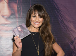 PARAMUS, NJ - MARCH 03:  Lea Michele attends 'Louder' CD signing event at Westfield Garden State Plaza Mall on March 3, 2014 in Paramus, New Jersey.  (Photo by Dave Kotinsky/Getty Images)