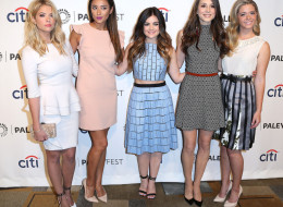 HOLLYWOOD, CA - MARCH 16: (L-R)  Actresses Ashley Benson, Shay Mitchell, Lucy Hale, Troian Bellisario, Sasha Pieterse attend The Paley Center for Media's PaleyFest 2014 Honoring 'Pretty Little Liars' at the Dolby Theatre on March 16, 2014 in Hollywood, California.  (Photo by Frederick M. Brown/Getty Images)