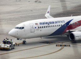 A Boeing Co. 737-800 aircraft operated by Malaysian Airlines