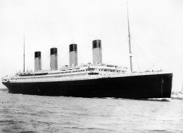 A photograph c1912 of the RMS Titanic as a maintenance guide to the doomed ocean liner has been released before the 100th anniversary of its sinking.