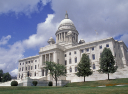 Rhode Island, Providence, State House, State Capitol. (Photo by Education Images/UIG via Getty Images)