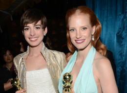 Anne Hathaway and Jessica Chastain star in the film.