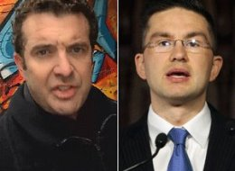 Rick Mercer again mocked Conservatives' controversial Fair Elections Act with another classic rant Tuesday night. (YouTube/CP)