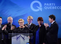 PQ Leader Pauline Marois was defeated after the provincial Liberals won a majority government Monday. (CP)