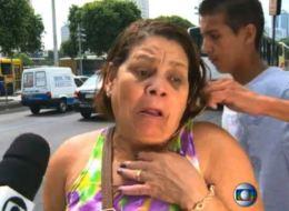 Mujer es asaltada ante cámaras de TV en Brasil mientras se estaba quejando sobre la falta de presencia policiaca