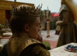 Joffrey contemplates on 'Game Of Thrones.'