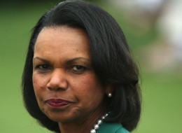 Condoleezza Rice, former United States Secretary of State and a member of Augusta National Golf Club, is pictured during the National Finals of the Drive, Chip and Putt Championship at Augusta National Golf Club on April 6, 2014 in Augusta, Georgia.